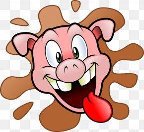 Pig Head Cliparts - Domestic Pig Pulled Pork Ham Ribs Clip Art PNG