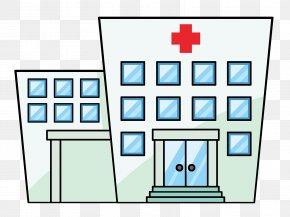 Cliparts Building Center - Hospital Free Content Patient Clip Art PNG