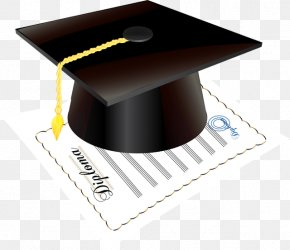 Woolen - Square Academic Cap Graduation Ceremony Diploma Clip Art PNG