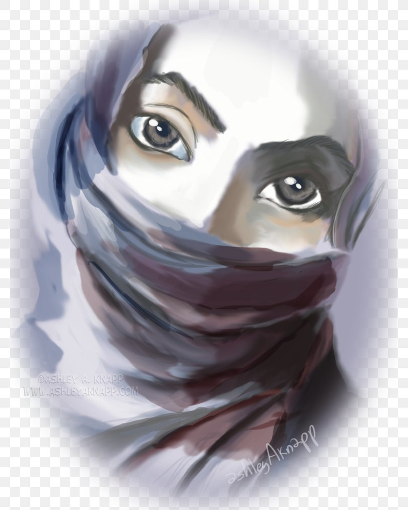 Drawing Art Hijab Sketch Png 779x1026px Watercolor Cartoon Flower Frame Heart Download Free