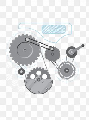 Mechanical Eye - Vector Graphics Drawing Stock Illustration Gear PNG