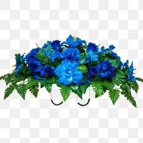 Blue Flower - Flower Blue Rose Floristry Floral Design PNG