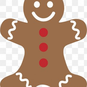 Gingerbread Man - The Gingerbread Man Clip Art PNG
