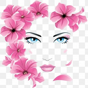 Flower Girls Face - Embroidery & Cross-stitch Embroidery & Cross-stitch A New Look For Needlework: Embroidery And Cross-stitch PNG