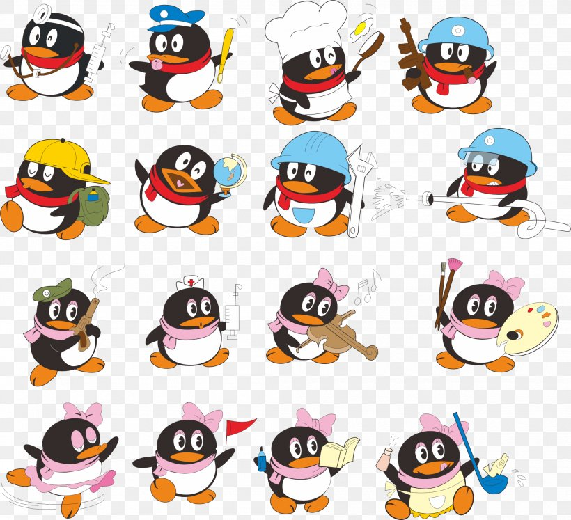Penguin Tencent Qq Google Images Cartoon Png 2085x1900px Penguin Bird Cartoon Flightless Bird Google Images Download