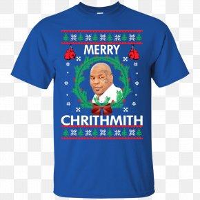 T-shirt - T-shirt Christmas Jumper Hoodie Sweater Sleeve PNG