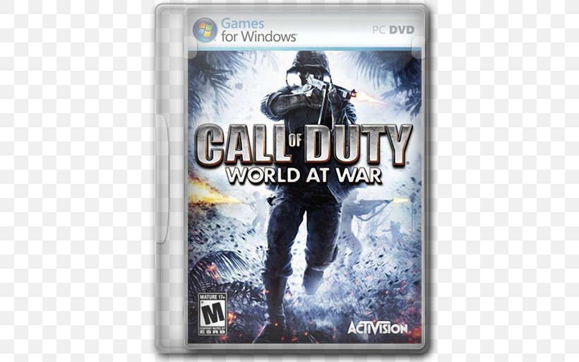 Call Of Duty: World At War Call Of Duty: Black Ops Call Of Duty 4: Modern Warfare Call Of Duty: Modern Warfare 2, PNG, 512x512px, Call Of Duty World At War, Activision, Call Of Duty, Call Of Duty 4 Modern Warfare, Call Of Duty Advanced Warfare Download Free
