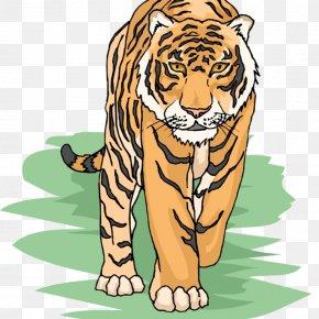 Tiger Clip Art - Clip Art Openclipart Bengal Tiger Siberian Tiger Image PNG