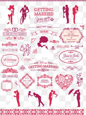Wedding Vector Material - Wedding Invitation PNG
