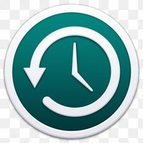 Apple Timemachine Border - Symbol Aqua Circle Font PNG