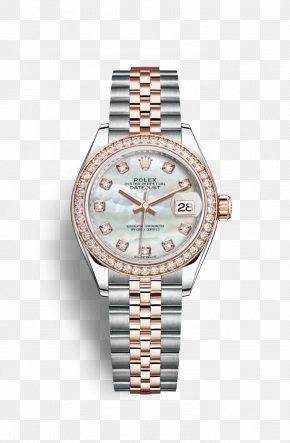 Rolex - Rolex Datejust Watch Jewellery Diamond PNG
