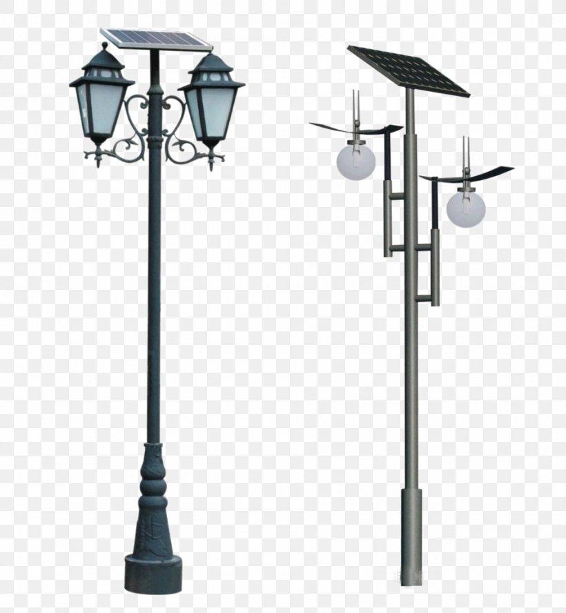 Solar Street Light Solar Lamp Lighting, PNG, 945x1024px, Light, Energy, Energy Conservation, Lamp, Light Fixture Download Free