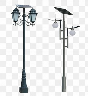 Energy Saving Street Light - Solar Street Light Solar Lamp Lighting PNG
