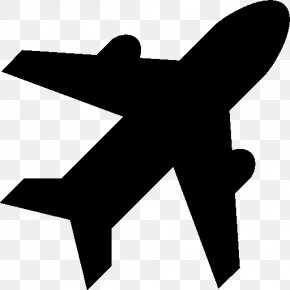 Airplane - Airplane Airport Air Travel Icon Design PNG