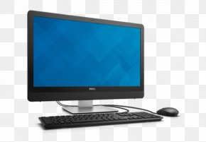 Dell Inspiron - Dell Desktop Computers Laptop Personal Computer Output Device PNG