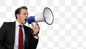 Shout Musical Instrument - Megaphone Audio Equipment Loudspeaker Musical Instrument Shout PNG