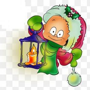 Cartoon Child - Child Christmas Clip Art PNG