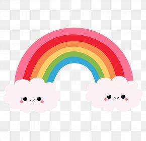 Rainbow - Rainbow Cartoon Drawing Clip Art PNG