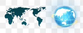 Business World Map Earth - Earth World Map World Map Wall Decal PNG