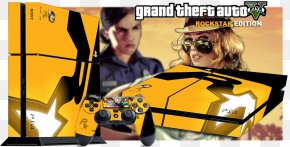 Computer Mouse - Grand Theft Auto V Video Game Poster Computer Mouse Decal PNG