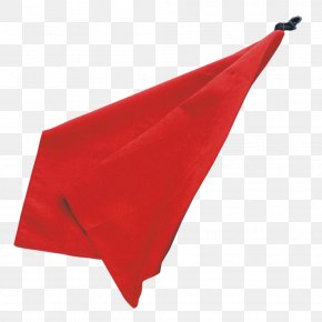 Red Towel - Triangle Flag PNG
