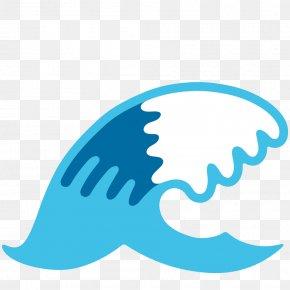 Wave - Emojipedia Wind Wave Sticker PNG