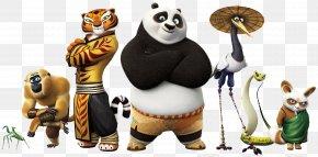Kung-fu Panda - Po Tigress Master Shifu Kung Fu Panda Film PNG