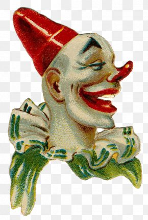 Vintage Circus Clown - Clown Paintings Circus Collage PNG