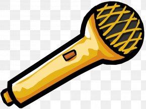 Mic - Club Penguin Microphone Cartoon Clip Art PNG