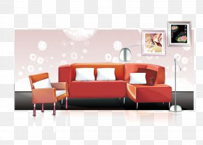 Living Room Home Decoration As A Whole - Interior Design Services Couch HOME Interior Illustration PNG