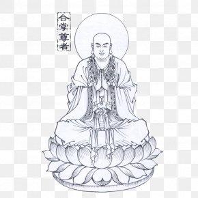 Hand-painted Buddha - Buddhahood Buddhism Buddharupa Guanyin PNG