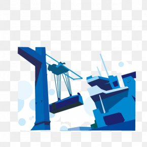 Blue Crane - Industry Infographic Clip Art PNG