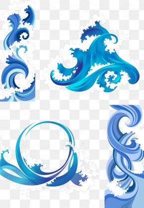 Vector Waves - Wind Wave Clip Art PNG