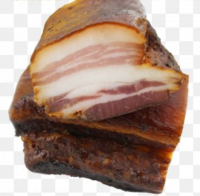Old Bacon - Back Bacon Ham Chinese Sausage Domestic Pig PNG