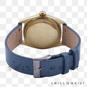 Watch - Watch Strap Watch Strap Blue Rolex Day-Date PNG