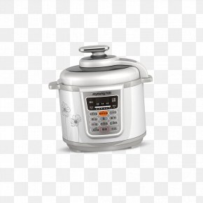 White Rice Cooker Shape - Rice Cooker Pressure Cooking Home Appliance Joyoung PNG