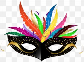 Carnival Mask Transparent Clip Art Image - Carnival Of Venice Mask PNG