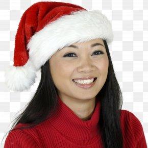 Santa Claus - Knit Cap Santa Claus Christmas Hat Textile PNG