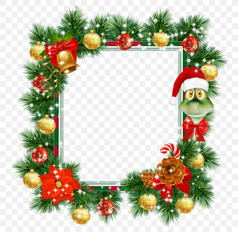 Clip Art Christmas Day Image Picture Frames, PNG, 800x800px, Christmas Day, Christmas, Christmas Decoration, Christmas Ornament, Conifer Download Free