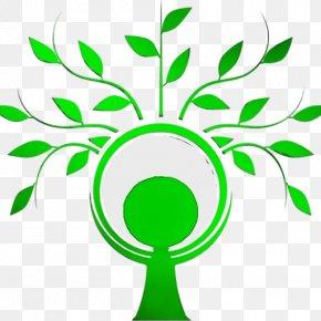 Line Art Plant Stem - Green Leaf Clip Art Plant Tree PNG