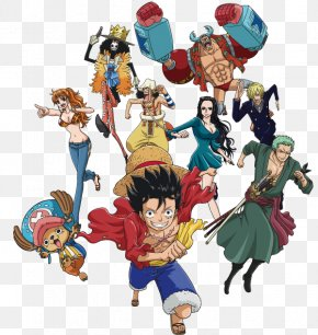 One Piece - Monkey D. Luffy One Piece Straw Hat Pirates Figurine Character PNG