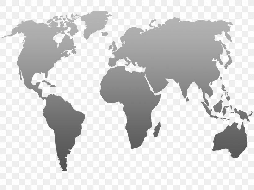 World Map Globe Png 1200x900px World Black And White
