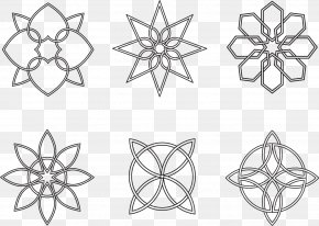 Snowflake - Structure Geometry Download PNG