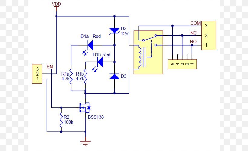 Relay Wiring Diagram Schematic Circuit Diagram Arduino