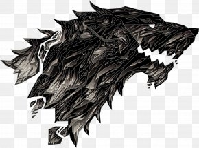 Cool Designs - Sigil House Stark Winter Is Coming Art PNG