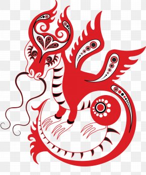 Chinese New Year - Chinese Dragon Chinese Zodiac Chinese New Year Clip Art PNG