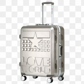 Metal Suitcase - Suitcase Hand Luggage Tmall Travel Box PNG