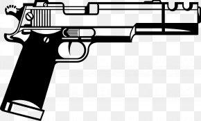Handgun - Firearm Gun Pistol Clip Art PNG