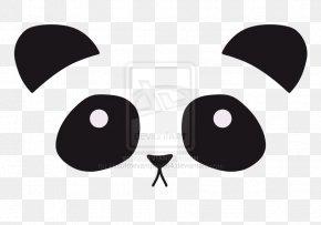 Bear - Giant Panda Bear Red Panda Cuteness Face PNG