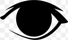Fox Eyes File - Black And White Logo Brand Font PNG